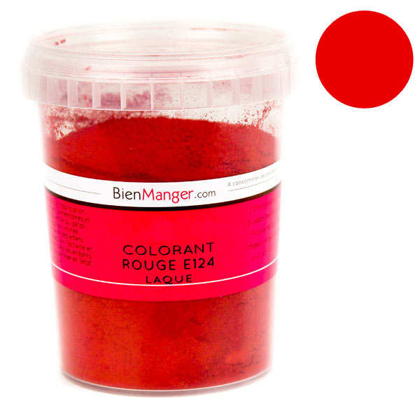 Red food colouring E124 - Powder liposoluble