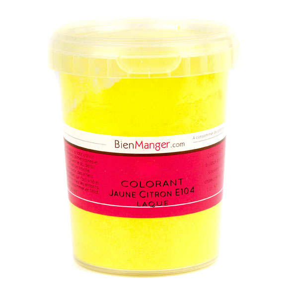 Lemon-yellow food colouring - Powder liposoluble