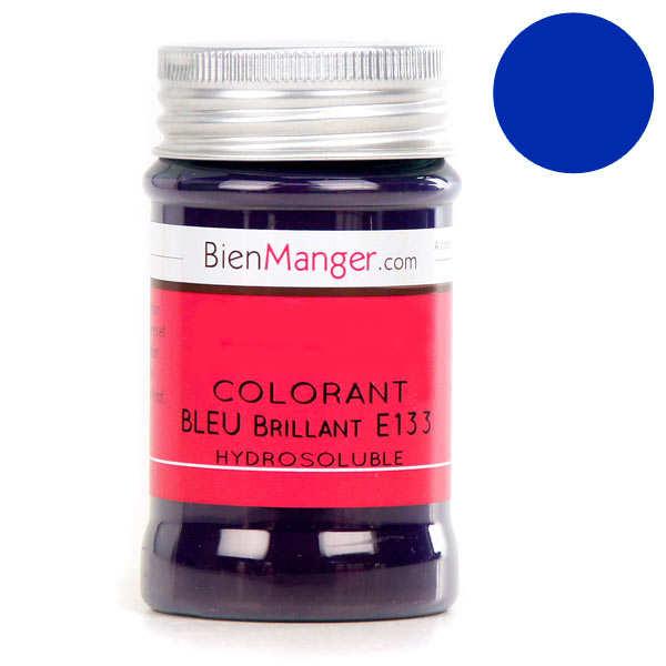Colorant alimentaire bleu E133 - Poudre hydrosoluble