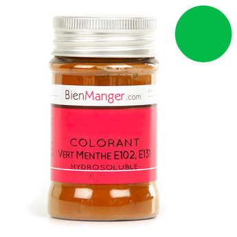 BienManger aromes&colorants - Colorant alimentaire vert-menthe - Poudre hydrosoluble