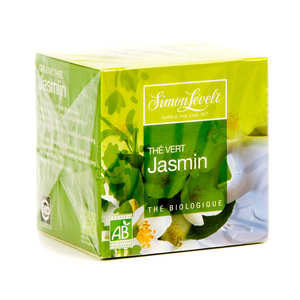 Simon Levelt - Organic Green Tea with Jasmine (x10 bags)