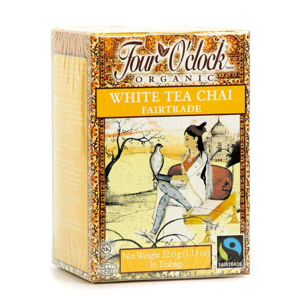 Organic White Chaï Tea - Four O' Clock