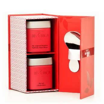 Ets George Cannon - Coffret de thé - Duo des parfums