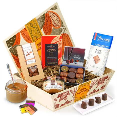 BienManger paniers garnis - Panier cadeau Le 100% Chocolat