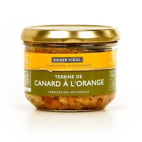 Roger Vidal - Terrine de canard à l'orange