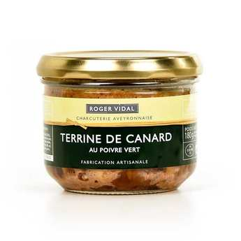 Roger Vidal - Terrine de canard artisanale au poivre vert