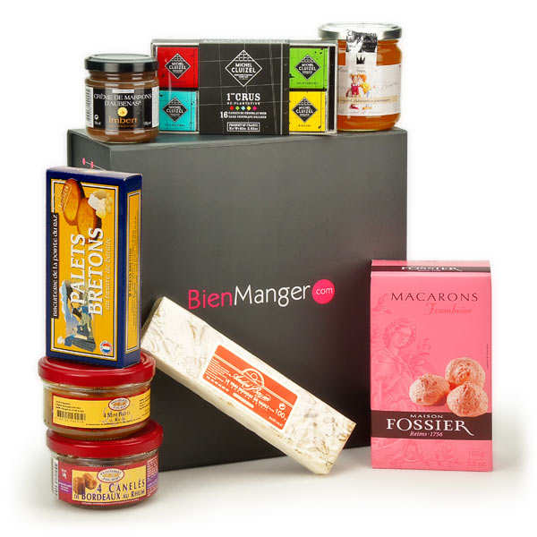 Le coffret instants gourmands