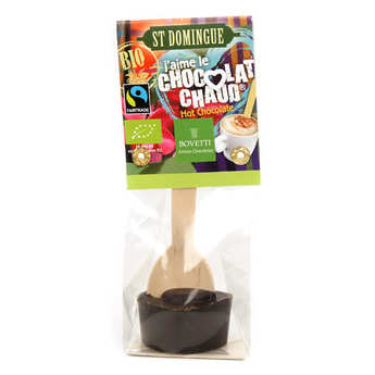 Bovetti chocolats - Hot chocolate spoon - Organic dark chocolate