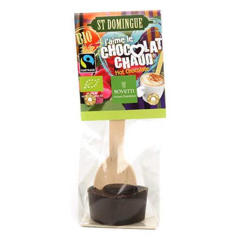 Bovetti chocolats - Hot chocolate spoon - Organic dark chocolate