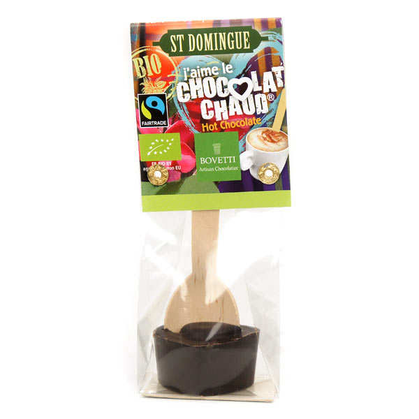 Hot chocolate spoon - Organic dark chocolate