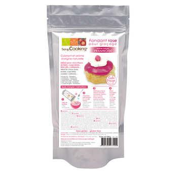 ScrapCooking ® - Fondant pour glaçage rose - Arôme naturel framboise