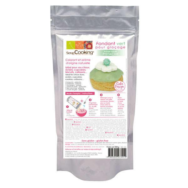 Fondant pour glaçage vert - Arôme naturel pistache