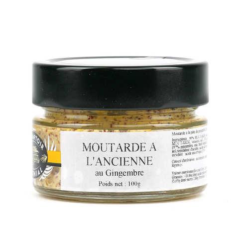 Le Comptoir Colonial - Moutarde à l'ancienne au gingembre