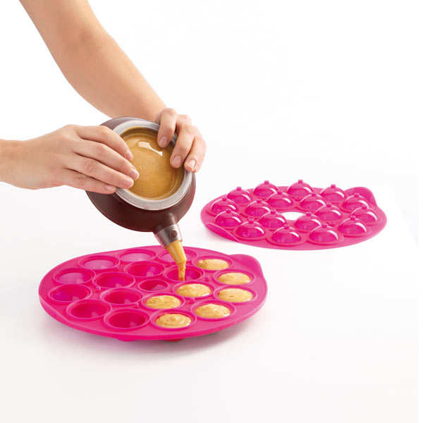 Moule Cake Pops En Silicone L 233 Ku 233