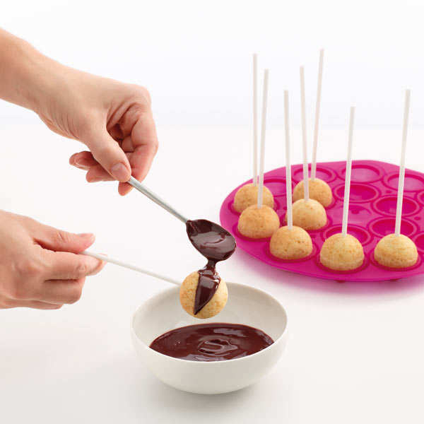 Silicone cake pops mould