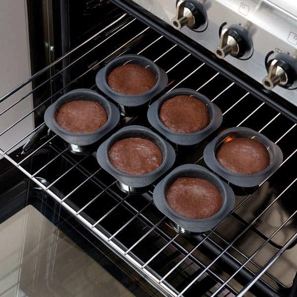Silicone molten lava cake mould