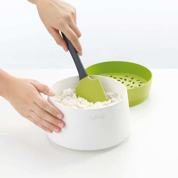 Rice & grain cooker for microwave