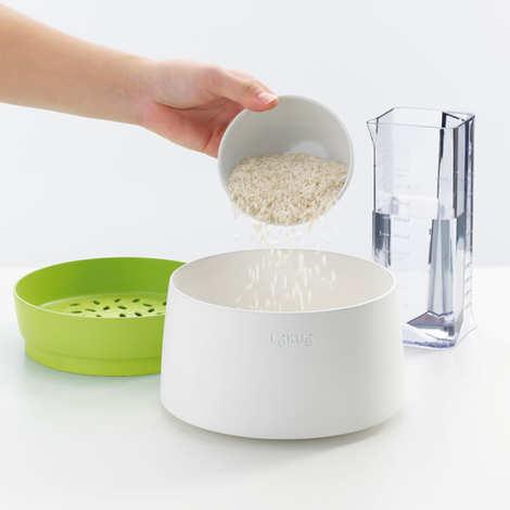 Lékué - Rice & grain cooker - Cuiseur à riz et céréales au micro-ondes