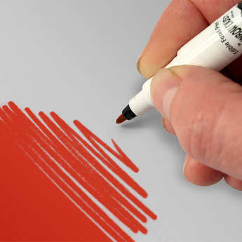Rainbow Dust - Red writing pen for food decoration