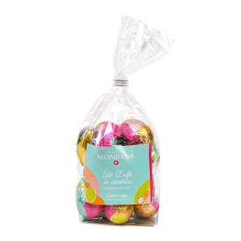 Monbana Chocolatier - 21 Easter eggs in milk chocolate