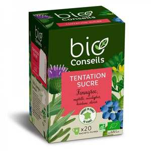 "Bio Conseils - Organic Infusion ""Blood sugar control"""