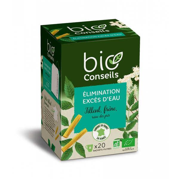 Infusion excès d'eau élimination bio - boîte 20 sachets