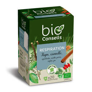 "Bio Conseils - organic infusion ""breathing"""