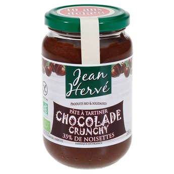 Jean Hervé - La Chocolade crunchy  - Pâte à tartiner bio