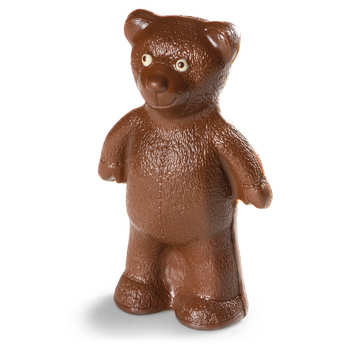 BienManger.com - Cute easter bear in milk chocolate