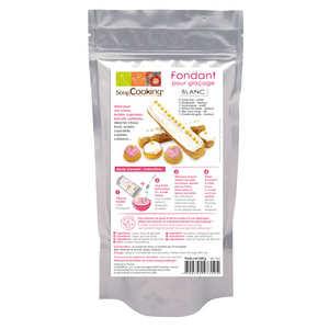 ScrapCooking ® - Fondant pour glaçage blanc pour pâtisserie