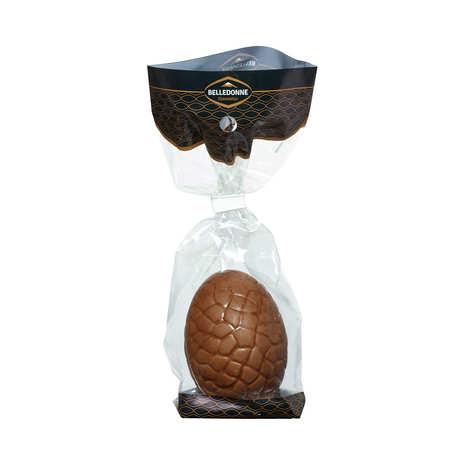 Belledonne Chocolatier - Organic Milk or Dark chocolate eggs