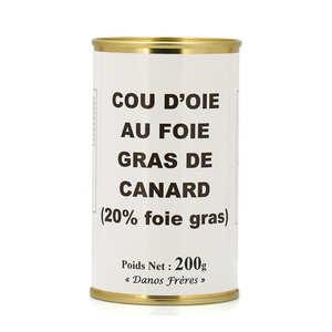 Danos Frères - Goose Neck stuffed with Duck Foie Gras