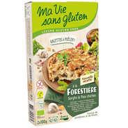 Ma vie sans gluten - Galettes prêtes à poêler champignons pois chiches bio sans gluten