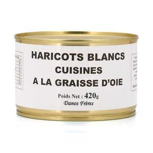 Danos Frères - Haricots blancs cuisinés à la graisse d'oie