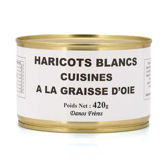 Danos Frères - Haricot Beans in Goose Fat