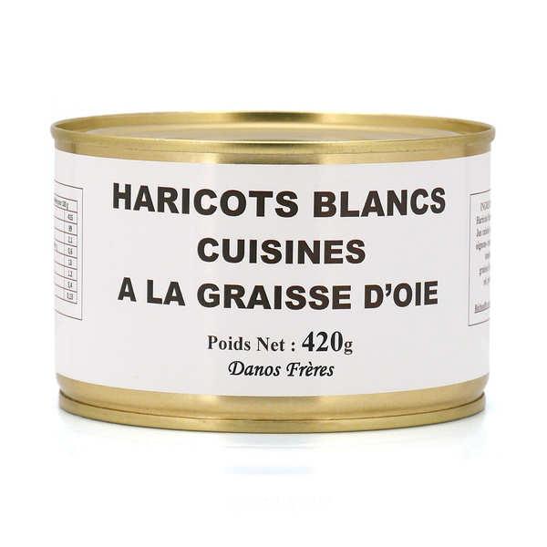 Chaise Cuisine Noyer : Haricots blancs cuisinés à la graisse doie  Danos Frères