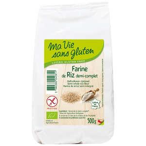 Ma vie sans gluten - Organic rice flour gluten free