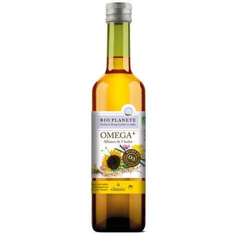 BioPlanète - Organic Omega+ rich 5 oils blend