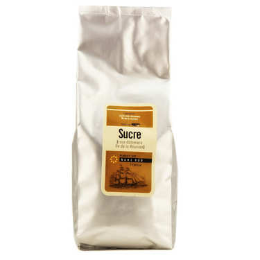 Reunion Island Demerara brown cane sugar