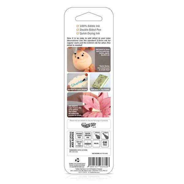 Food decoration pen - pink