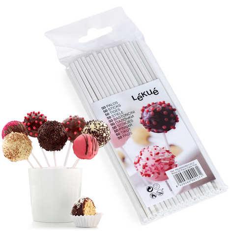 Lékué - 50 bâtons pour cake pops (15cm)