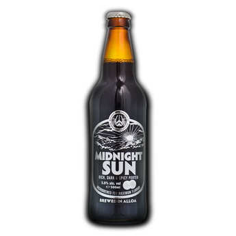 Williams Bros Brewing - Midnight Sun - bière brune anglaise épicée (gingembre) 5,6%