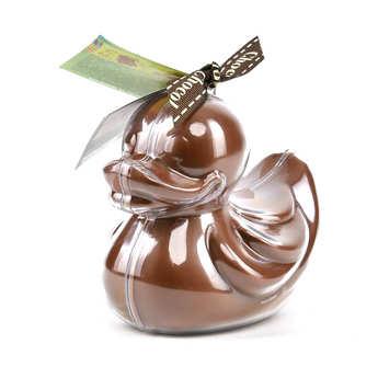 Bovetti chocolats - Bimbi Bio - Caneton en chocolat au lait et son moule à réutiliser