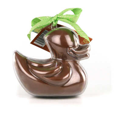 Bimbi Bio - Caneton en chocolat au lait et son moule à réutiliser