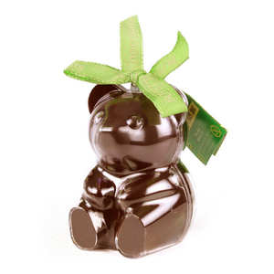 Bovetti chocolats - Bimbi - Organic Milk Chocolate Teddy Bear in reusable mould