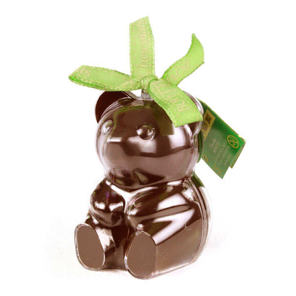 Bimbi - Organic Milk Chocolate Teddy Bear in reusable mould