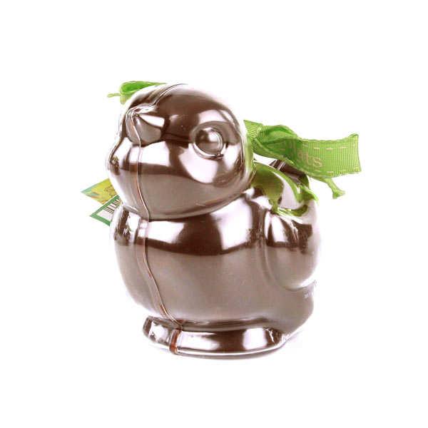Bimbi Bio - Oiseau en chocolat au lait et son moule à réutiliser