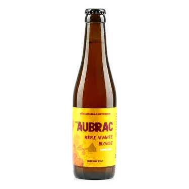 Bière blonde de l'Aubrac de la Brasserie d' Olt - 5.8%