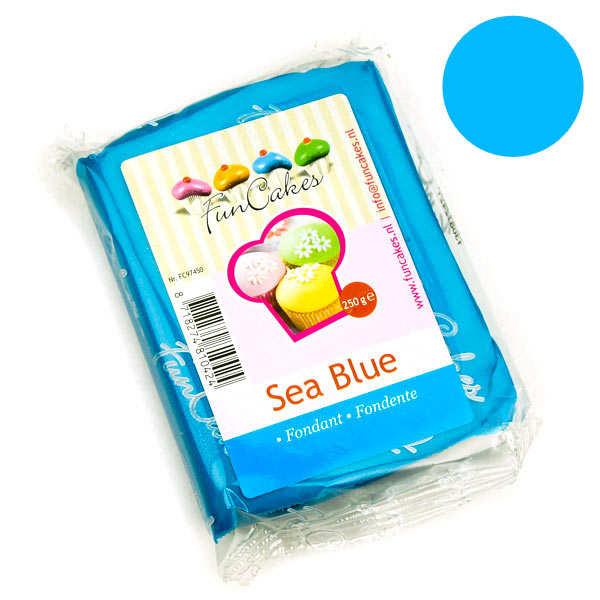 Pâte à sucre bleu azur FunCakes