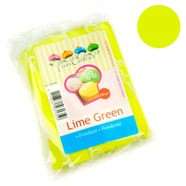 FunCakes ready-roll lime green icing